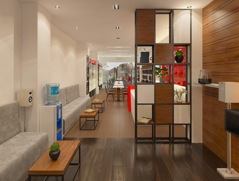 Thiết kế nội thất shop điện thoại Di Động Việt 9
