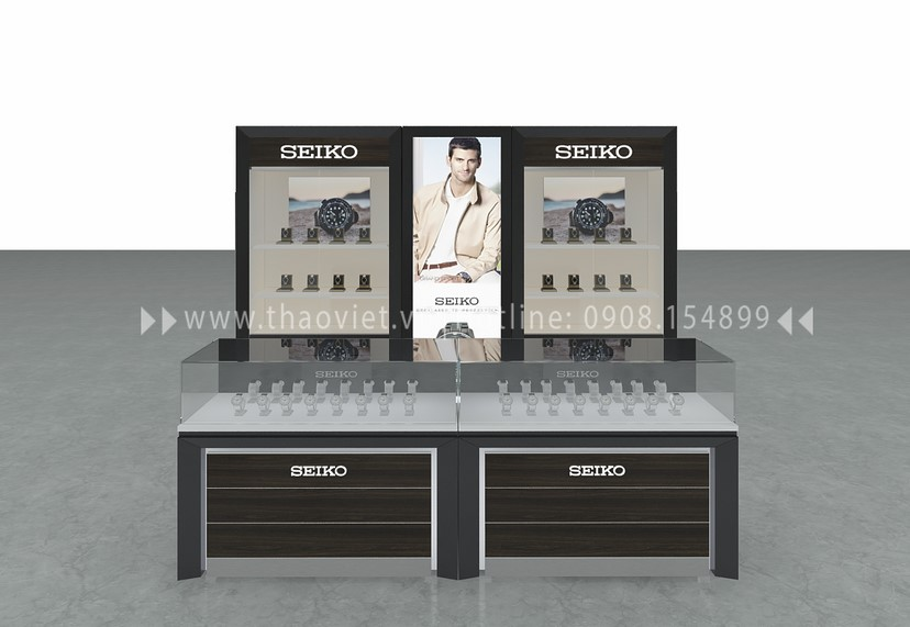 thiết kế shop Seiko Corner