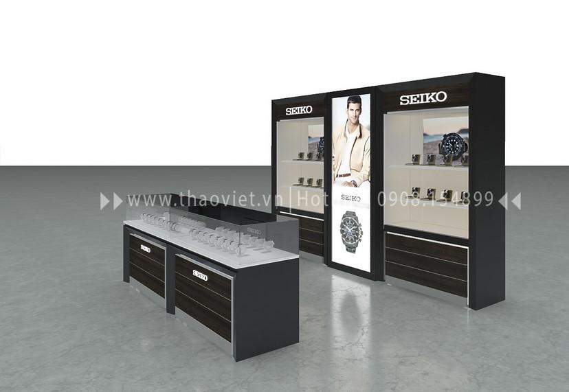 thiết kế shop Seiko Corner 1