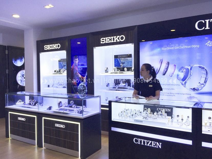 thiết kế shop Seiko Corner 4