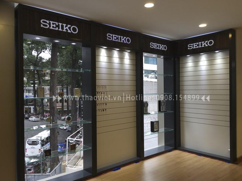thiết kế shop Seiko Corner 3
