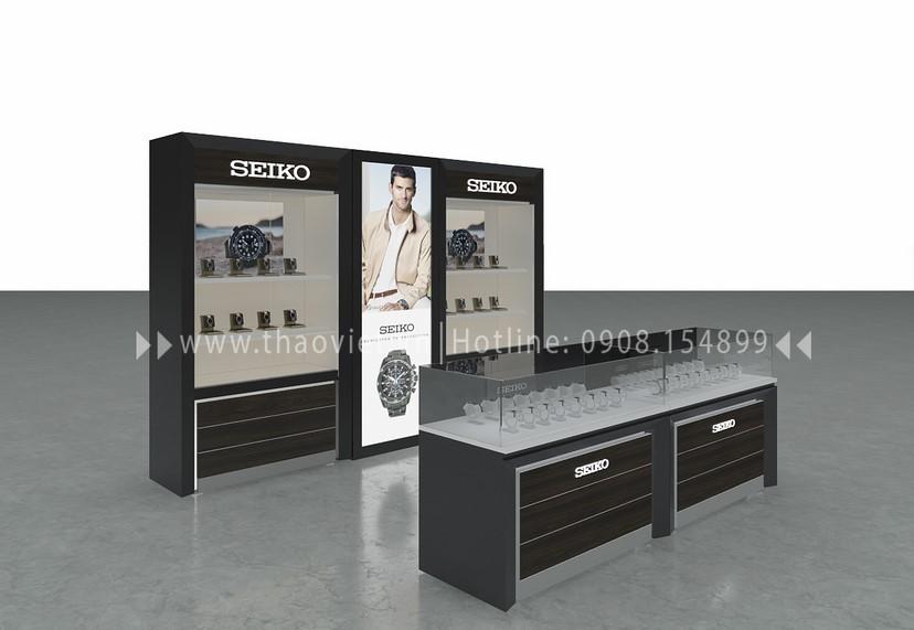 thiết kế shop Seiko Corner 2
