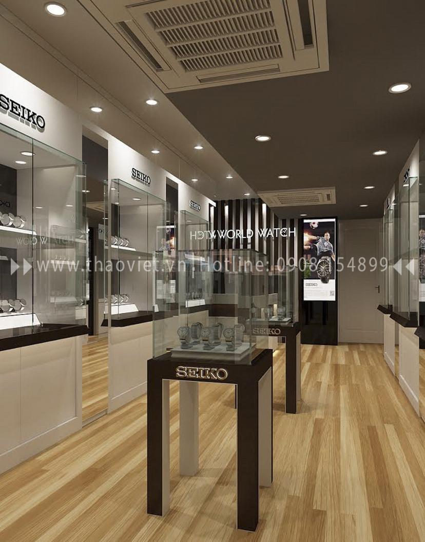Thiết kế shop đồng hồ Seiko - Đồng Khởi 2