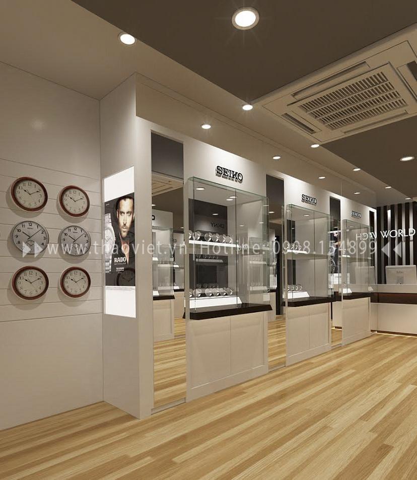 Thiết kế shop đồng hồ Seiko - Đồng Khởi 4