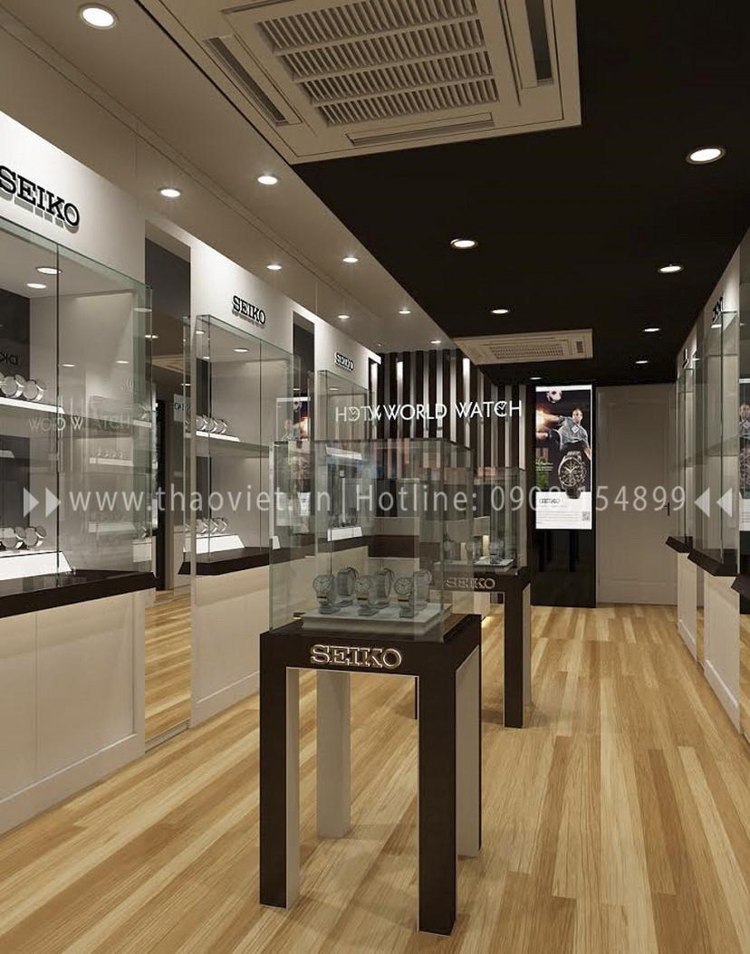 Thiết kế shop đồng hồ Seiko - Đồng Khởi 3