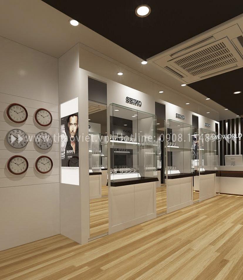 Thiết kế shop đồng hồ Seiko - Đồng Khởi 5