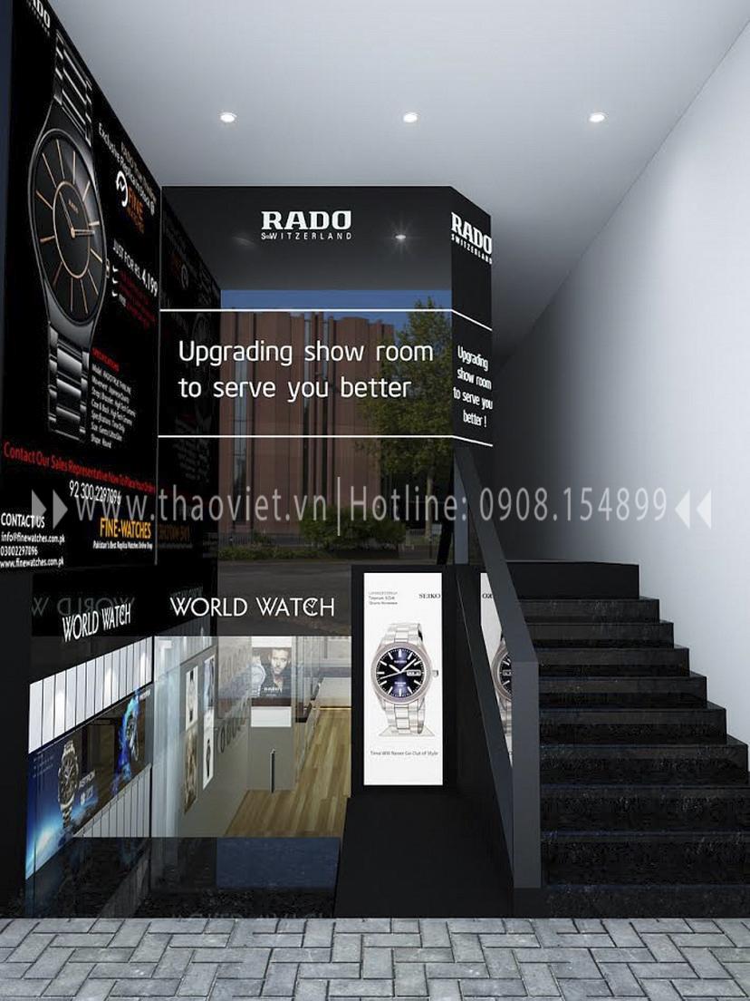 Thiết kế shop đồng hồ Seiko - Đồng Khởi 1