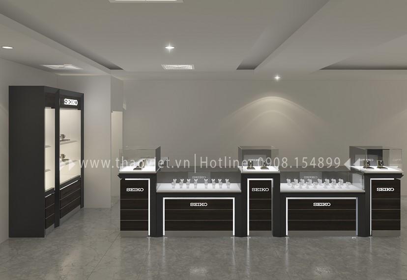 thiết kế shop đồng hồ Thành Phát Corner
