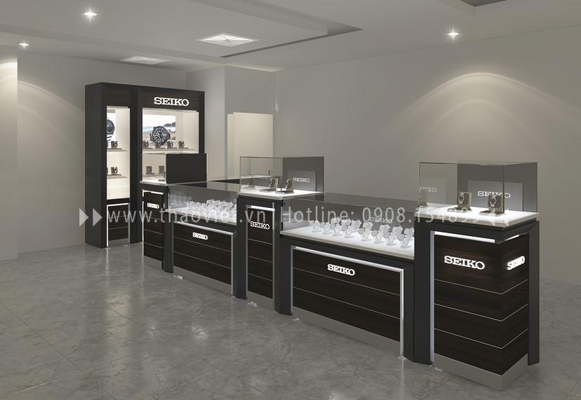 thiết kế shop đồng hồ Thành Phát Corner 2
