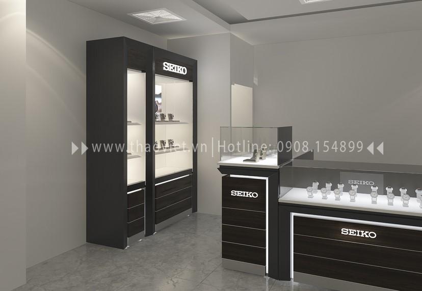 thiết kế shop đồng hồ Thành Phát Corner 3