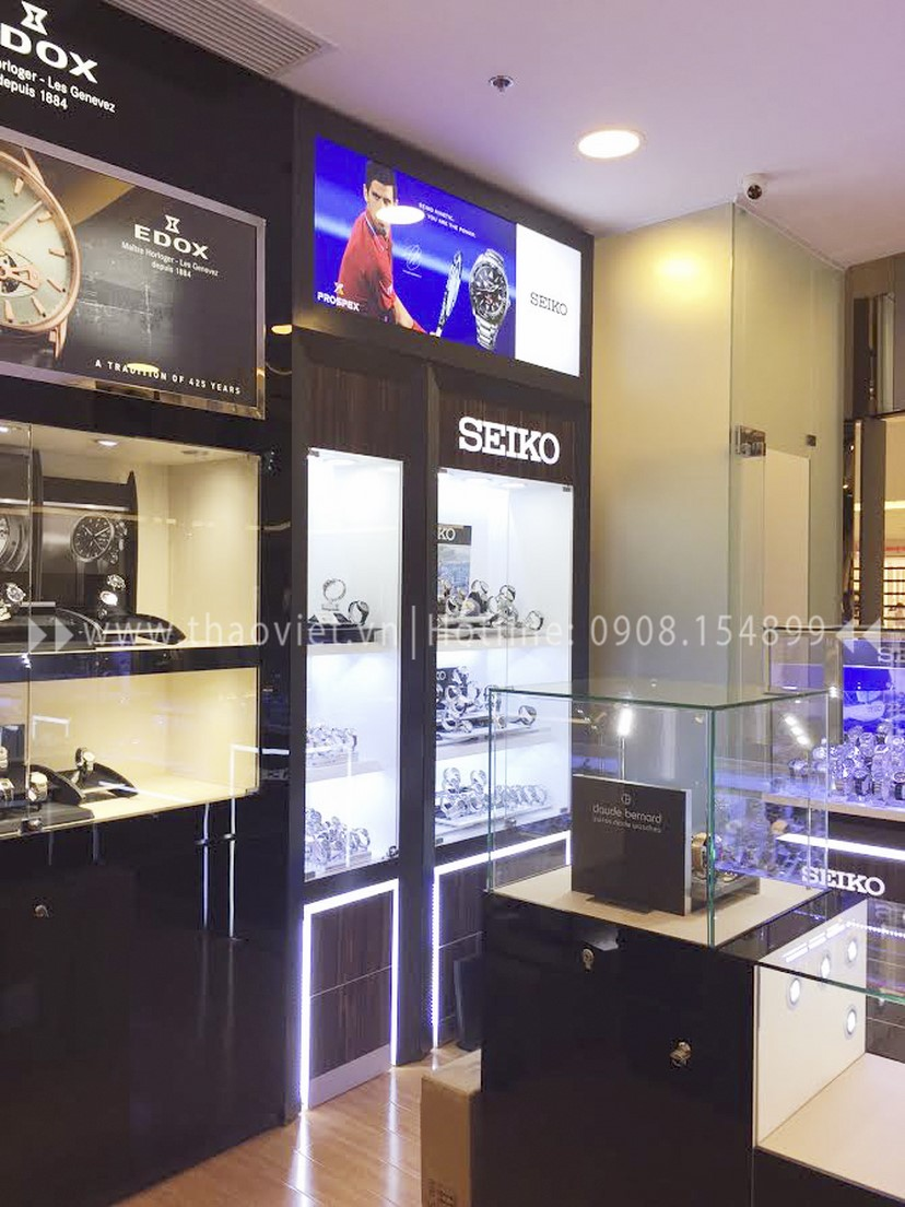 thiết kế shop đồng hồ Thành Phát Corner 4