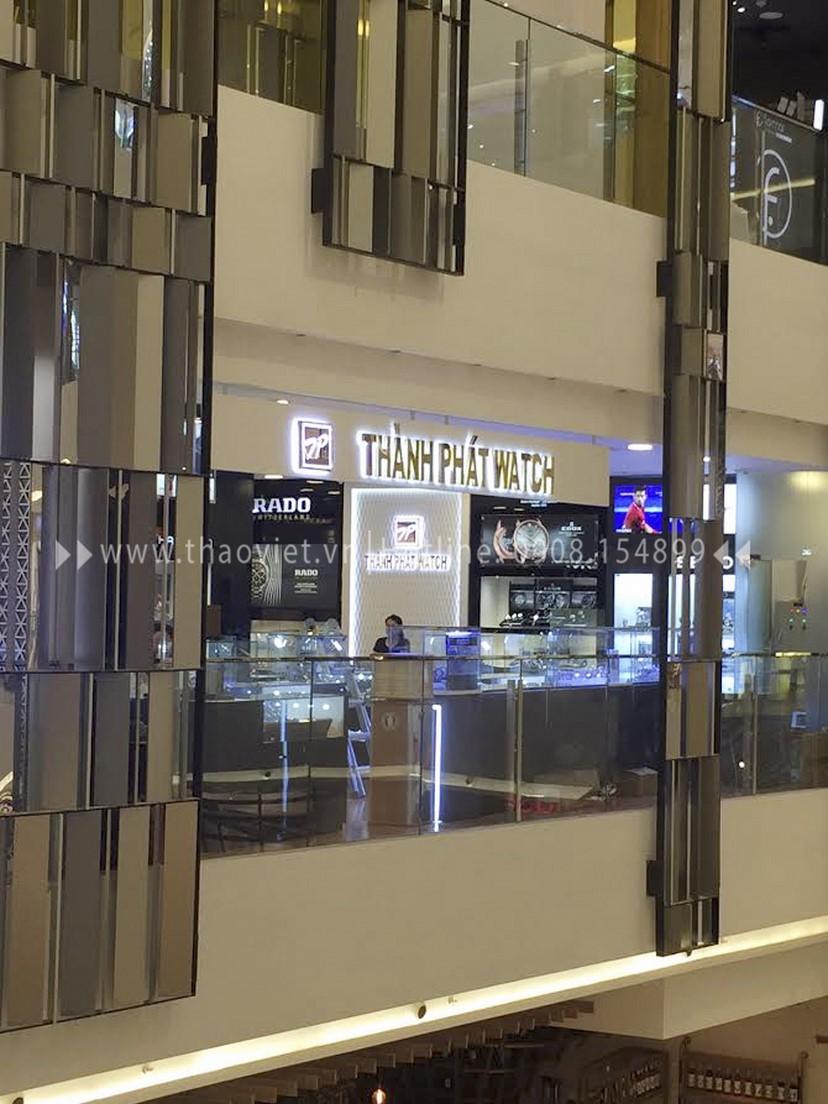 thiết kế shop đồng hồ Thành Phát Corner 7