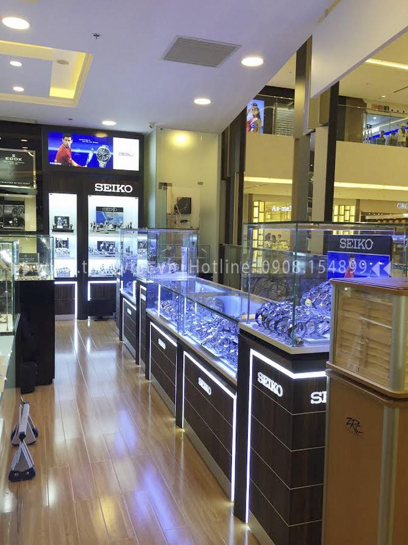 thiết kế shop đồng hồ Thành Phát Corner 8