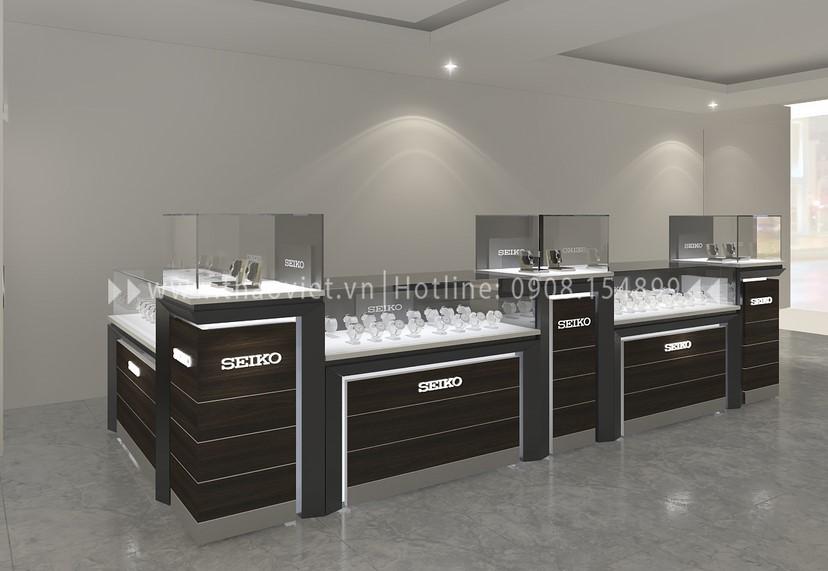 thiết kế shop đồng hồ Thành Phát Corner 1