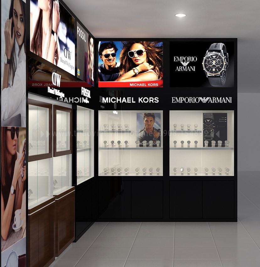 thiết kế shop đồng hồ đẹp 2