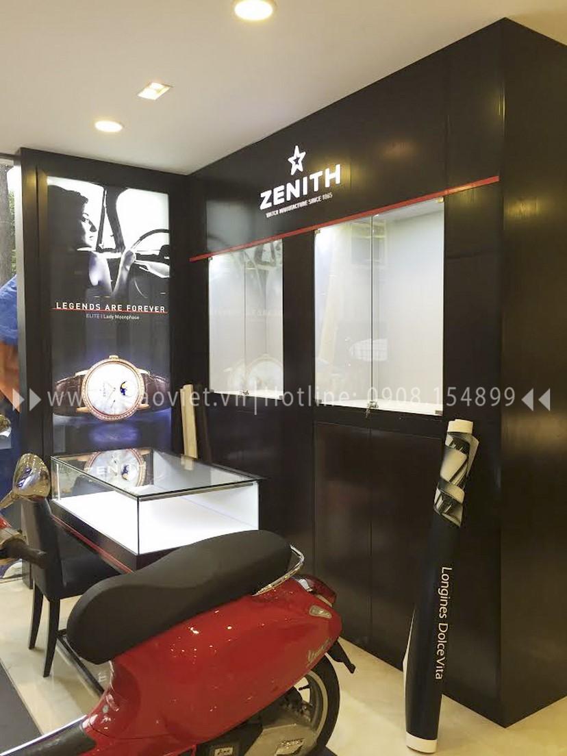 thiết kế shop Zenith Corner 3