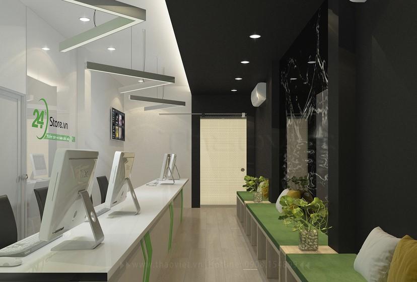 thiết kế nội thất phòng dịch vụ 7