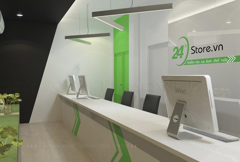 thiết kế nội thất phòng dịch vụ 8