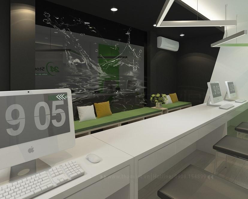 thiết kế nội thất phòng dịch vụ 12