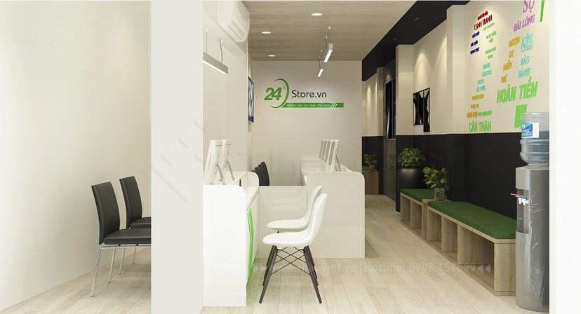 thiết kế nội thất phòng dịch vụ