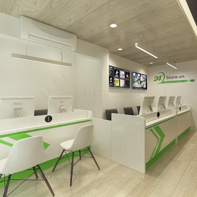 thiết kế nội thất phòng dịch vụ 1
