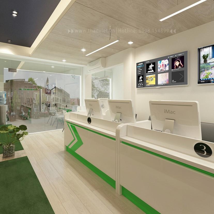 thiết kế nội thất phòng dịch vụ 2