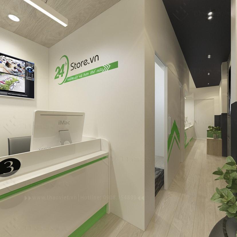 thiết kế nội thất phòng dịch vụ 3