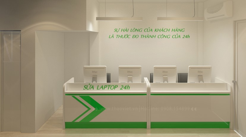 thiết kế nội thất phòng dịch vụ 5