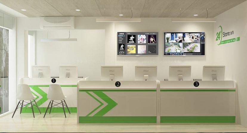 thiết kế nội thất phòng dịch vụ 6