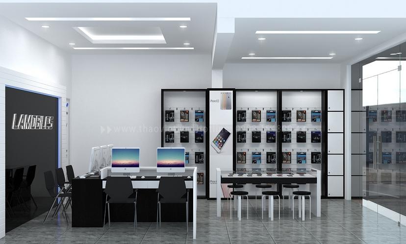 Thiết kế shop điện thoại LAMOBILES 5