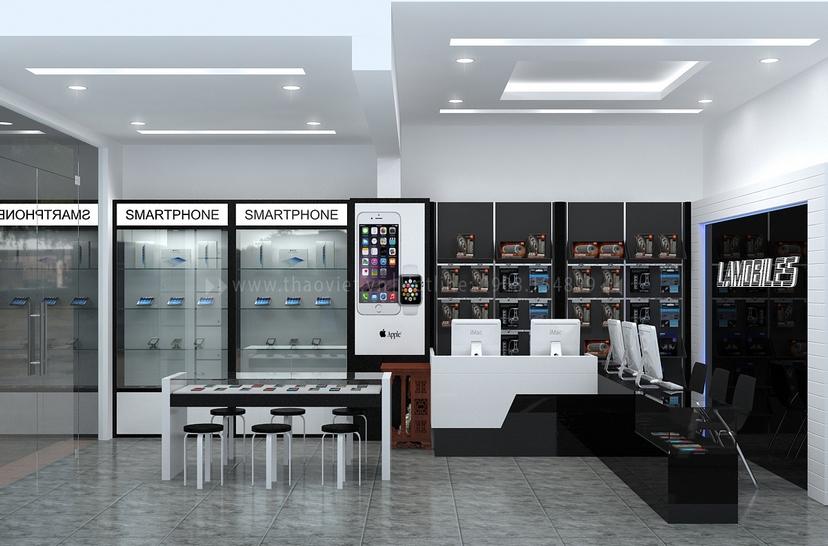 Thiết kế shop điện thoại LAMOBILES 6