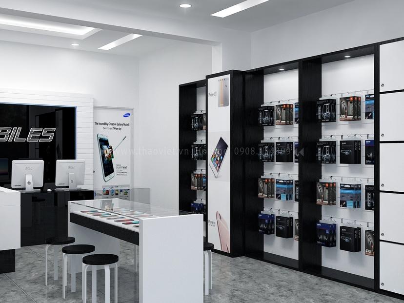 Thiết kế shop điện thoại LAMOBILES 4