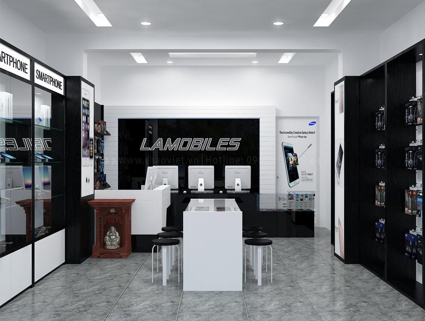 Thiết kế shop điện thoại LAMOBILES 2