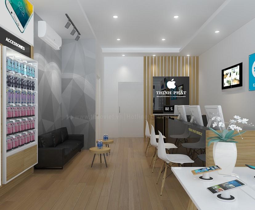 thiết kế shop điện thoại Thịnh Phát 2