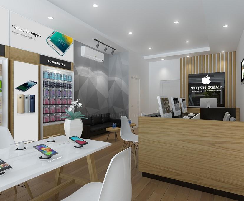 thiết kế shop điện thoại Thịnh Phát 6