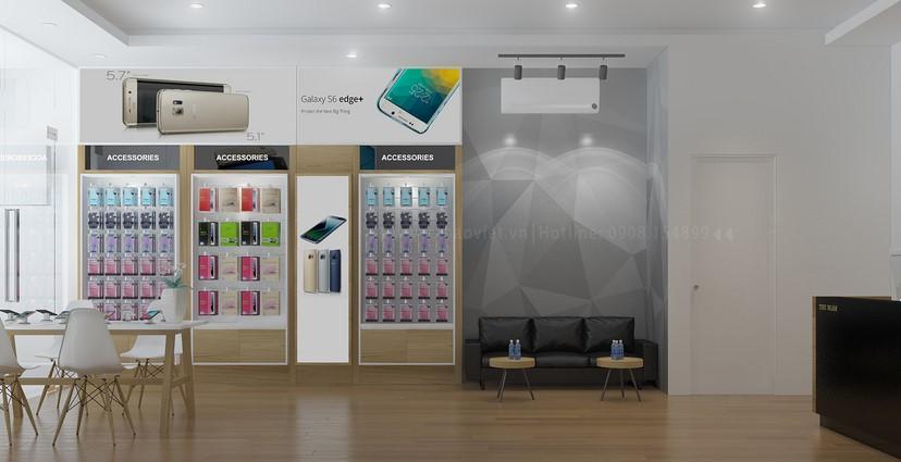 thiết kế shop điện thoại Thịnh Phát 3