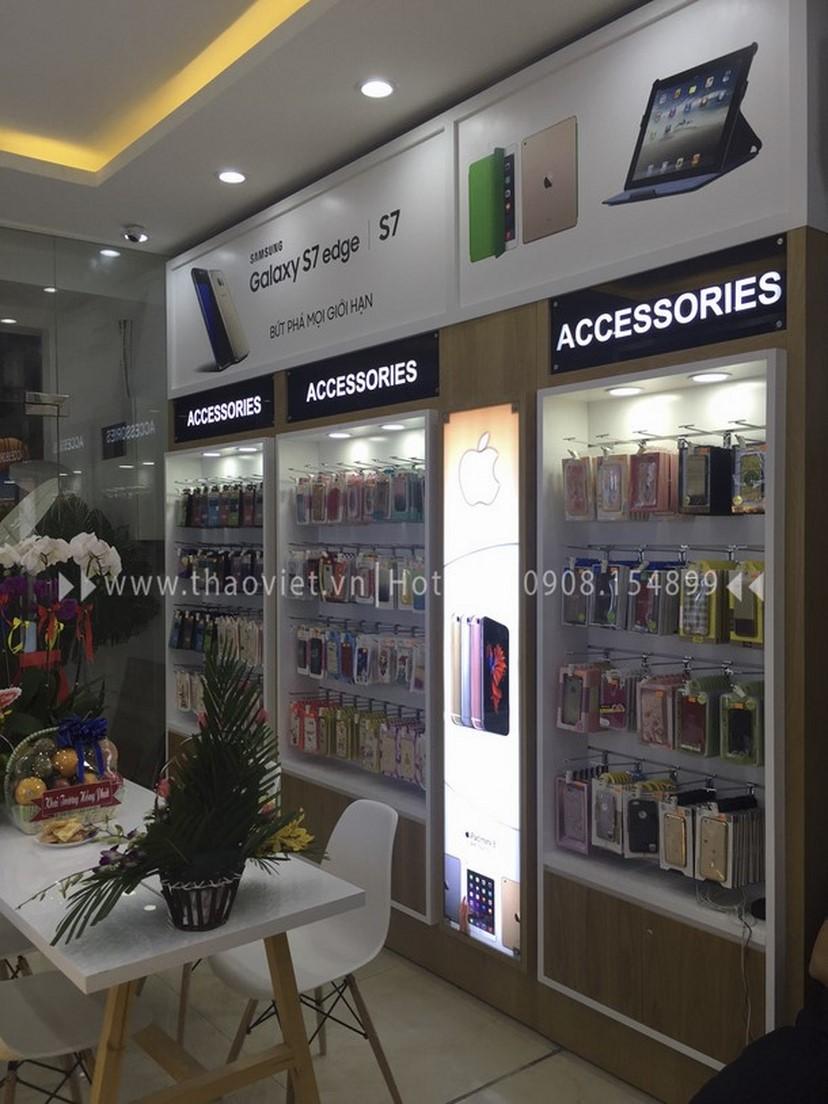 Thiết kế thi công nội thất shop điện thoại Thịnh Phát 4