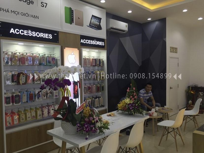Thiết kế thi công nội thất shop điện thoại Thịnh Phát 6