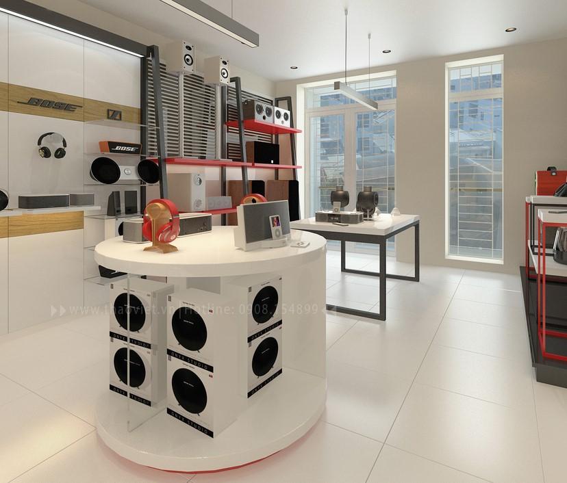 thiết kế shop công nghệ âm thanh Đẳng Cấp Digital 6
