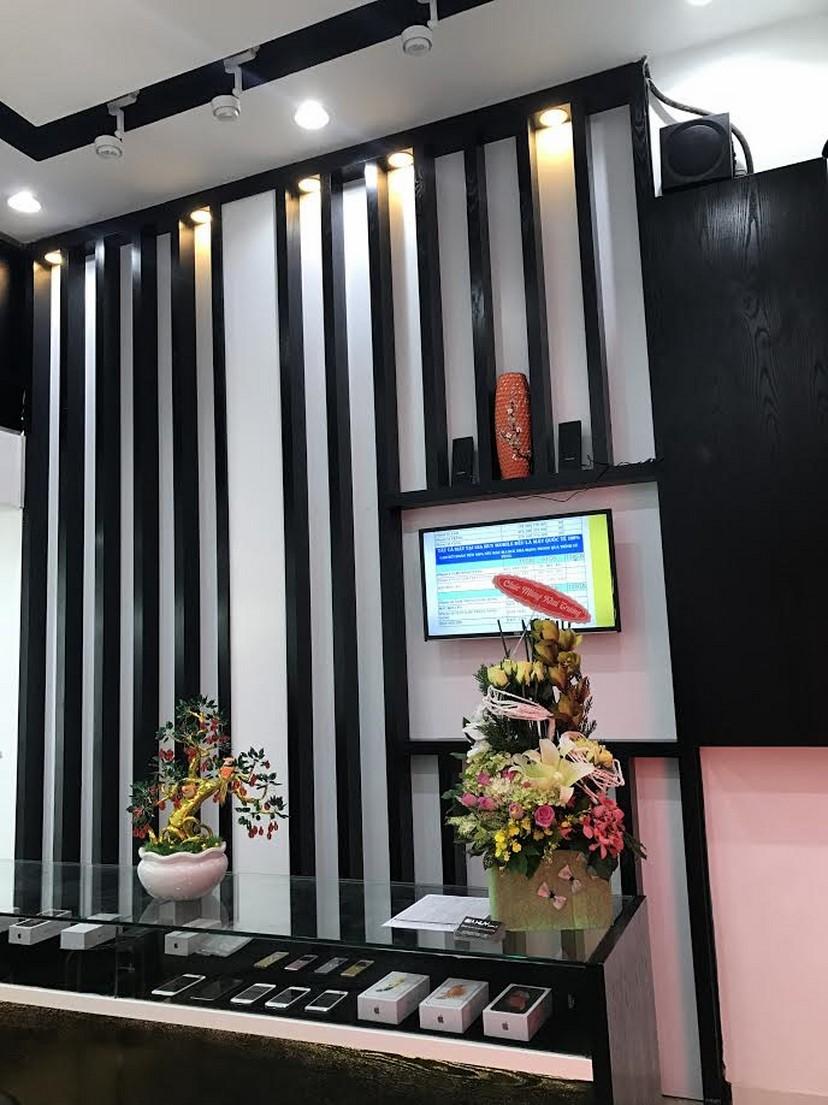 thiết kế nội thất shop Gia Huy 6