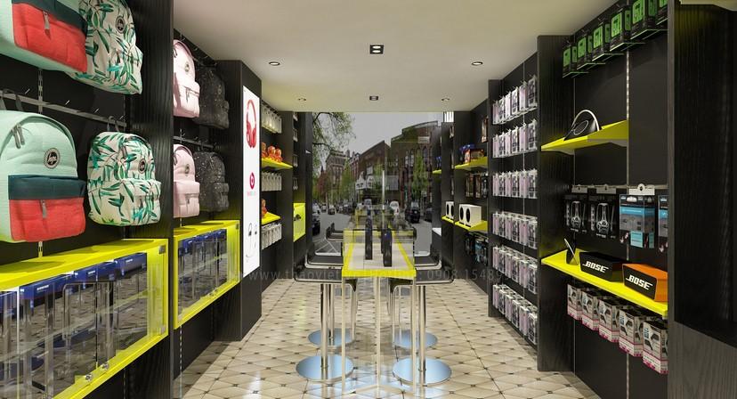 thiết kế nội thất shop phụ kiện 9