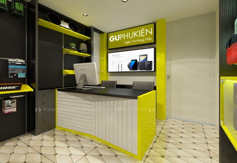 thiết kế nội thất shop phụ kiện 8