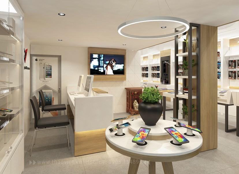 Thiết kế nội thất shop Hoàng Phát CN6 5