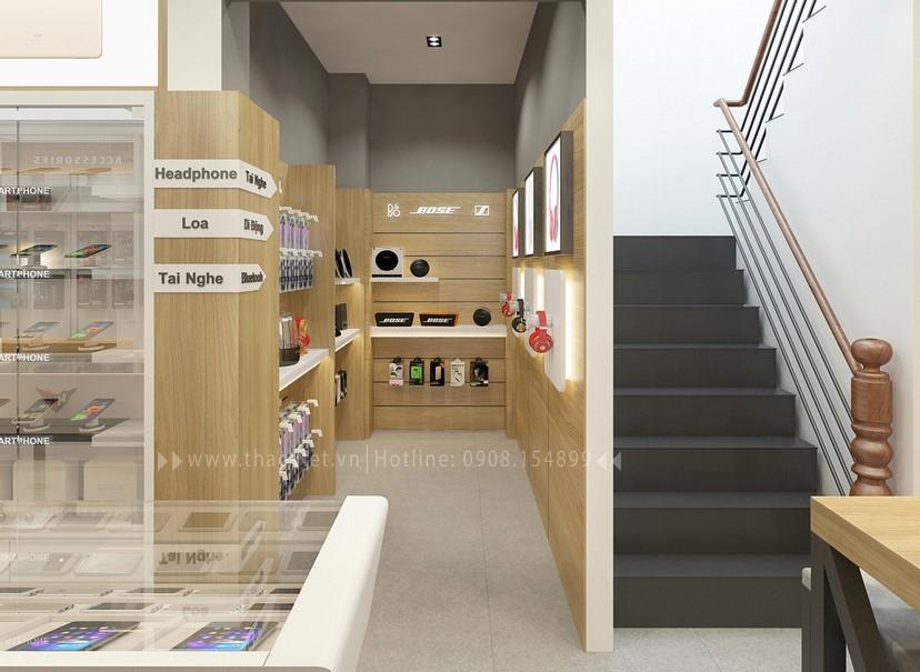Thiết kế nội thất shop Hoàng Phát CN6 10