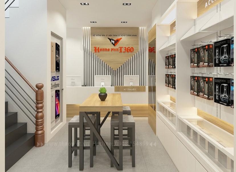 Thiết kế nội thất shop Hoàng Phát CN6 4