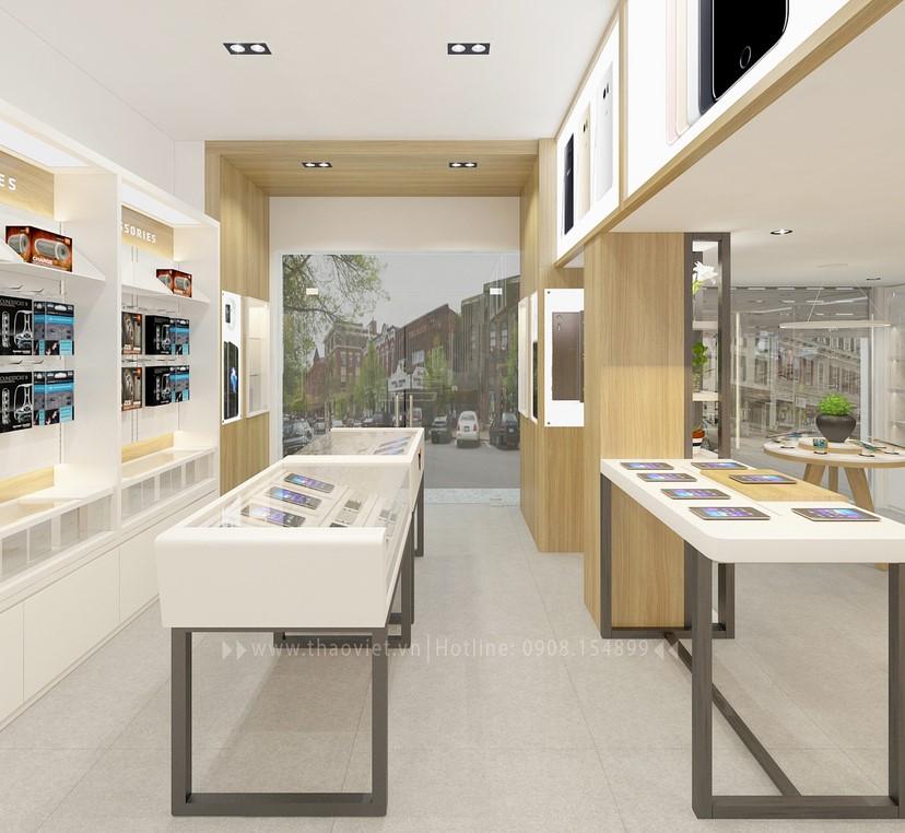 Thiết kế nội thất shop Hoàng Phát CN6 13