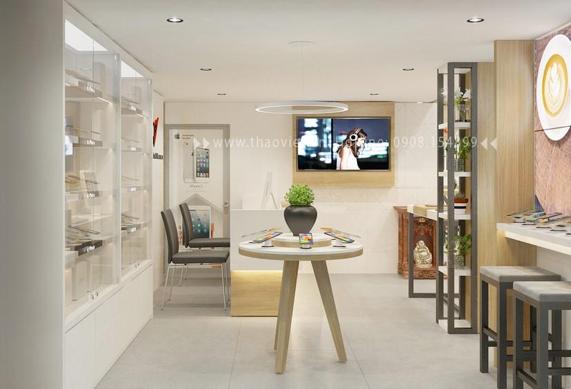 Thiết kế nội thất shop Hoàng Phát CN6 6