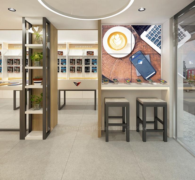 Thiết kế nội thất shop Hoàng Phát CN6 7