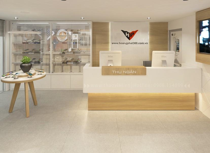 Thiết kế nội thất shop Hoàng Phát CN6 11