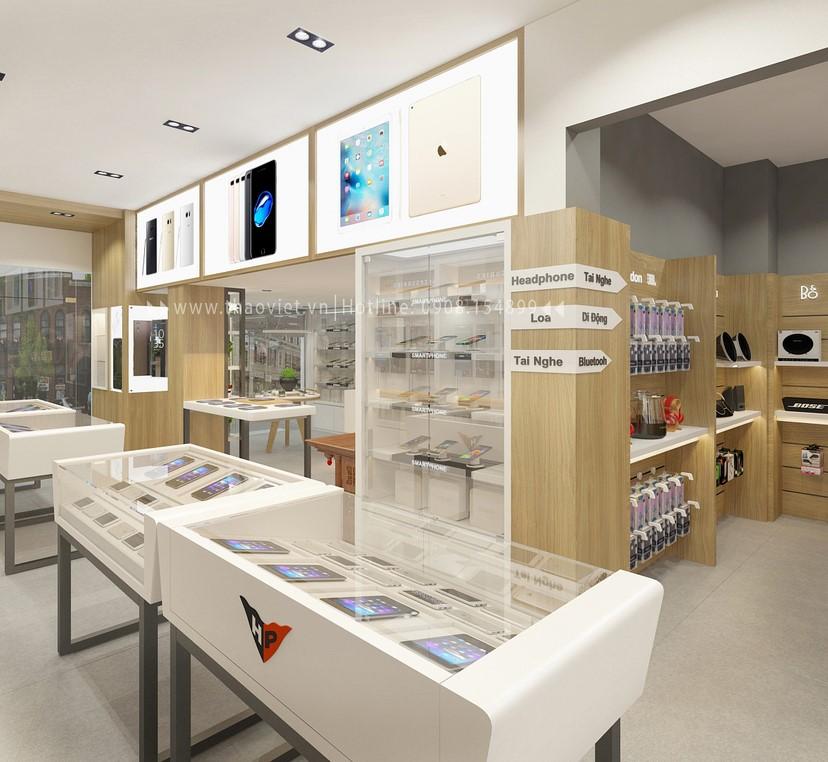 Thiết kế nội thất shop Hoàng Phát CN6 8